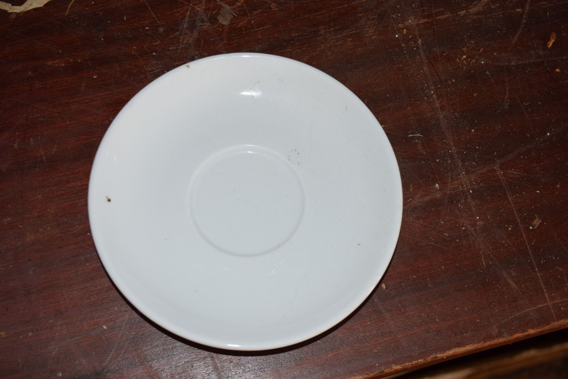 Crate: 67 white Saucers. - Image 2 of 2