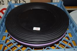 Four large circular Serving Boards.
