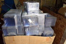 Lge qty clear plastic Take Away Packs.