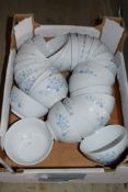 Box: approx 30 floral decorated Bowls.