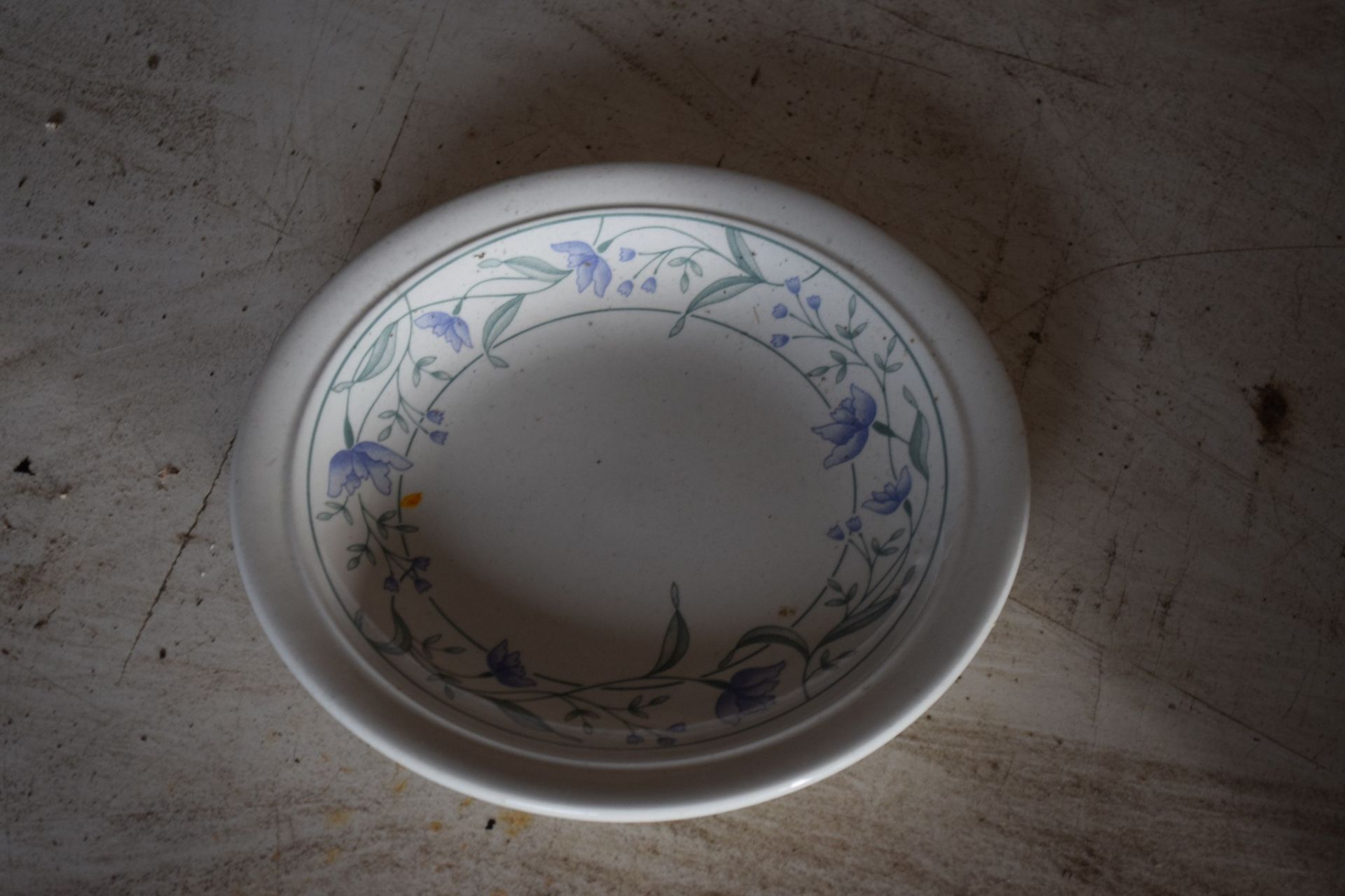 Crate: 58 floral decorated Side Plates. - Image 2 of 2