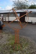 LARGE GARDEN ARMILLARY, APPROX 2.2M
