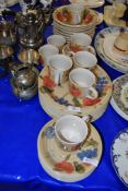 SCOTTS OF STOW TEA SET AND DINNER PLATES