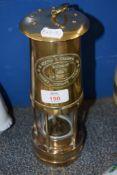 MINER'S BRASS LAMP