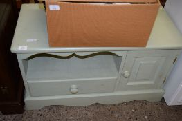 PAINTED TV STAND, 90CM WIDE