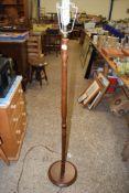 MAHOGANY STANDARD LAMP