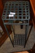 MODERN METAL PLANT STAND, 23CM WIDE