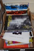 BOX OF VARIOUS RECORDS, MAINLY LPS