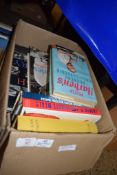 BOX OF BOOKS, VARIOUS TITLES