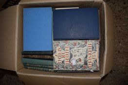 BOX OF BOOKS, VARIOUS TITLES INCLUDING A PHEONIX TOO FREQUENT BY CHRISTOPHER FRY