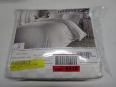 Lily Manor Enderlin 300 TC Jacquard Duvet Cover Set, Size: King, RRP £39.99