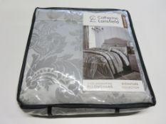 Catherine Lansfield Damask Jacquard Duvet Cover Set, Size: Double - 2 Standard Pillowcases, RRP £