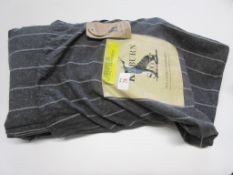 August Grove Roger Brushed Cotton Duvet Cover Set, Size: Super King - 2 Standard Pillowcases, RRP £