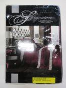 Rosdorf Park Coley Duvet Cover Set, Size: Kingsize - 2 Standard Pillowcases, RRP £24.99
