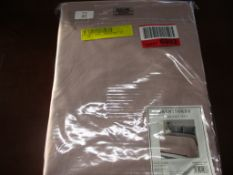 Hashtag Home Sauceda Duvet Cover Set, Colour: Blush Pink/Silver, Bed Size: King, RRP £16.33