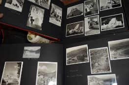 TWO PHOTOGRAPH ALBUMS – VIEWS OF GREECE AND YUGOSLAVIA