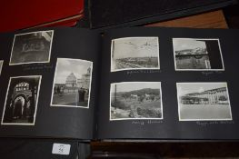 PHOTOGRAPH ALBUM WITH VIEWS OF ITALY AND CORFU