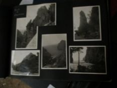 PHOTOGRAPH ALBUM WITH VIEWS OF MAJORCA AND NORTH AFRICA