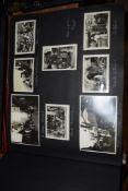 "PHOTOGRAPH ALBUM ""TRAVEL THROUGH EUROPE BY TRAIN TO EGYPT 1937"""