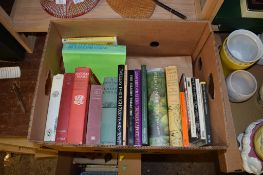 """BOX OF BOOKS INCLUDING CHURCHILL """"HISTORY OF THE ENGLISH SPEAKING PEOPLES"""" AND VARIOUS OTHER TITLES"""