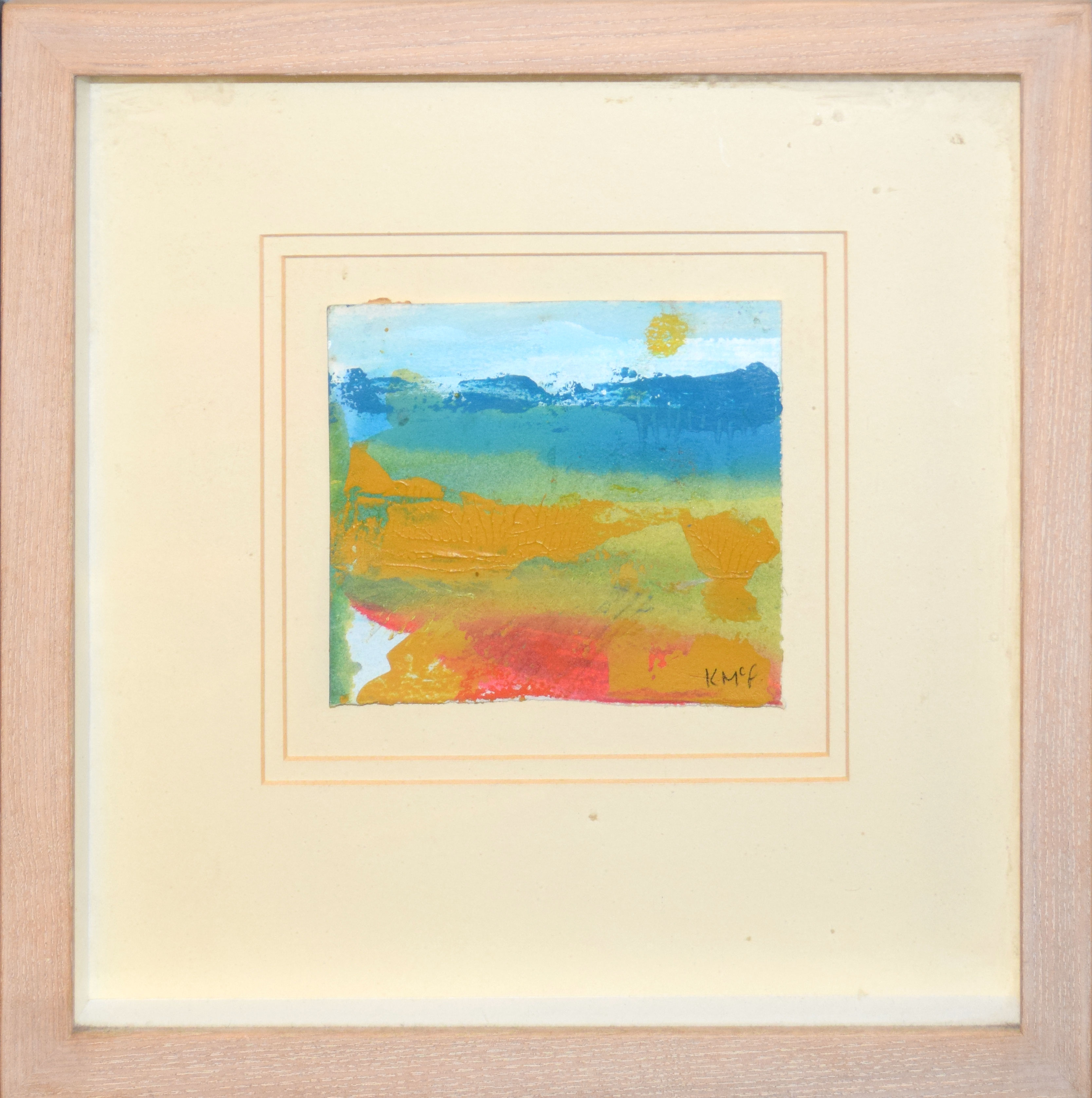 •AR Kathleen McFarlane (1922-2008), Landscapes, group of three mixed media, all signed lower - Image 2 of 3
