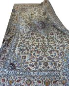 """Fine Keshan carpet, signed by the weaver """"Paydar"""", 3.5m x 2.47m"""