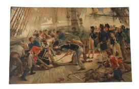 """After Fred Roe, """"Goodbye my lads"""", """"Bound for Trafalgar's Bay"""" and """"The toast is Britain"""", group"""