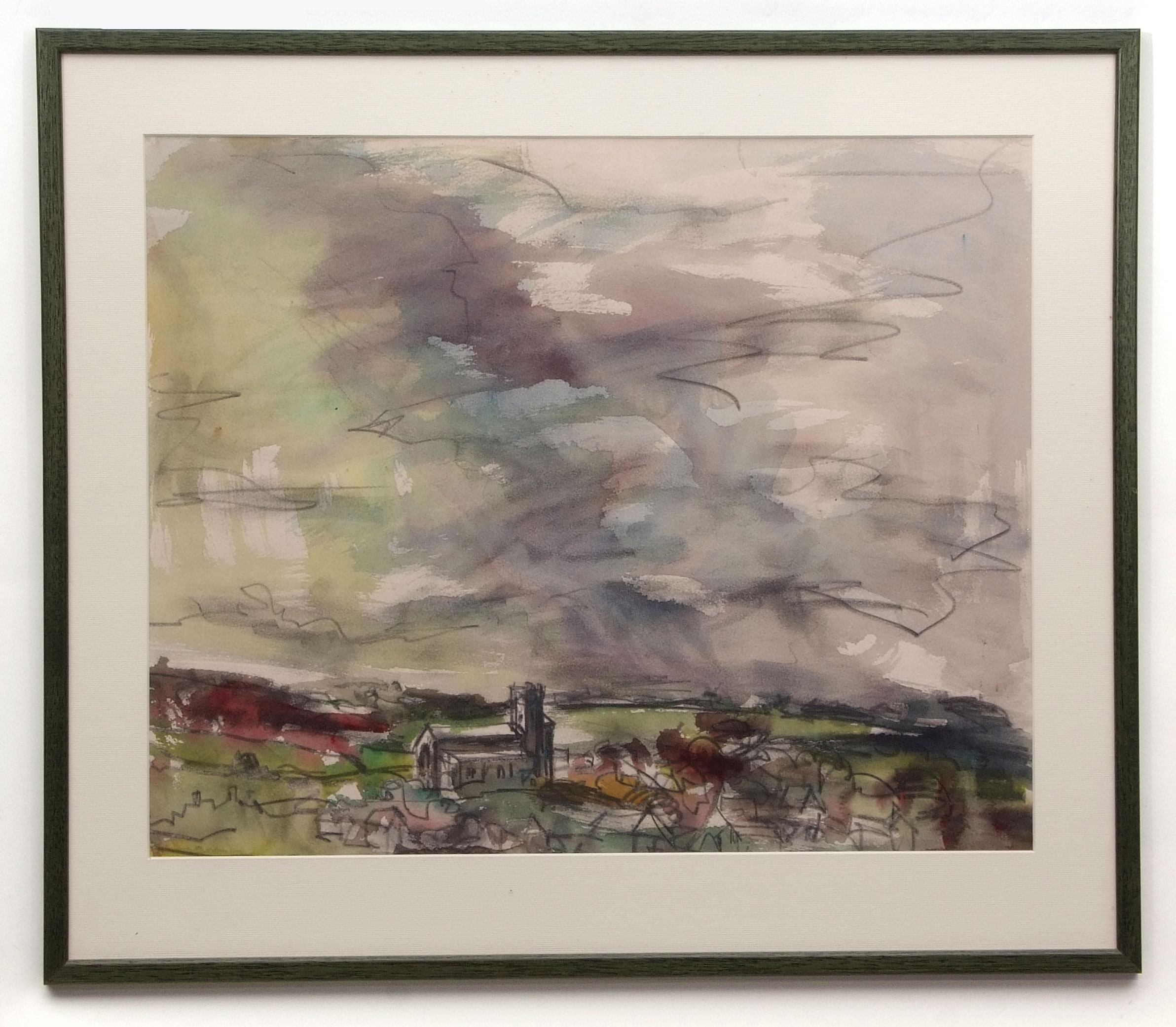 David Smith, Landscapes, coastal scenes etc, group of 13 watercolours, some signed, assorted - Image 5 of 13