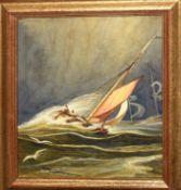 English School (19th century), Seascape, watercolour, 30 x 24cm