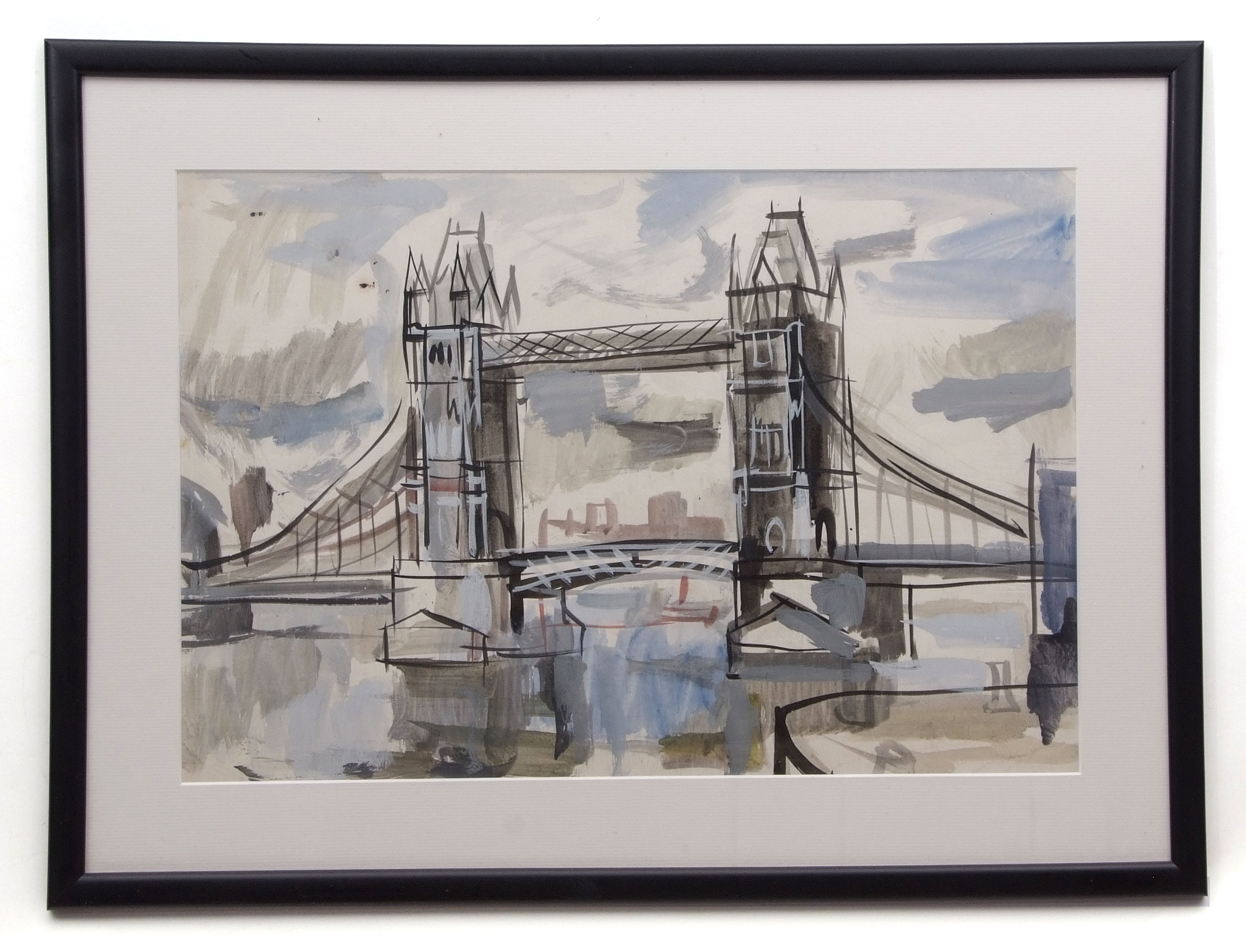 David Smith, Landscapes, coastal scenes etc, group of 13 watercolours, some signed, assorted - Image 7 of 13