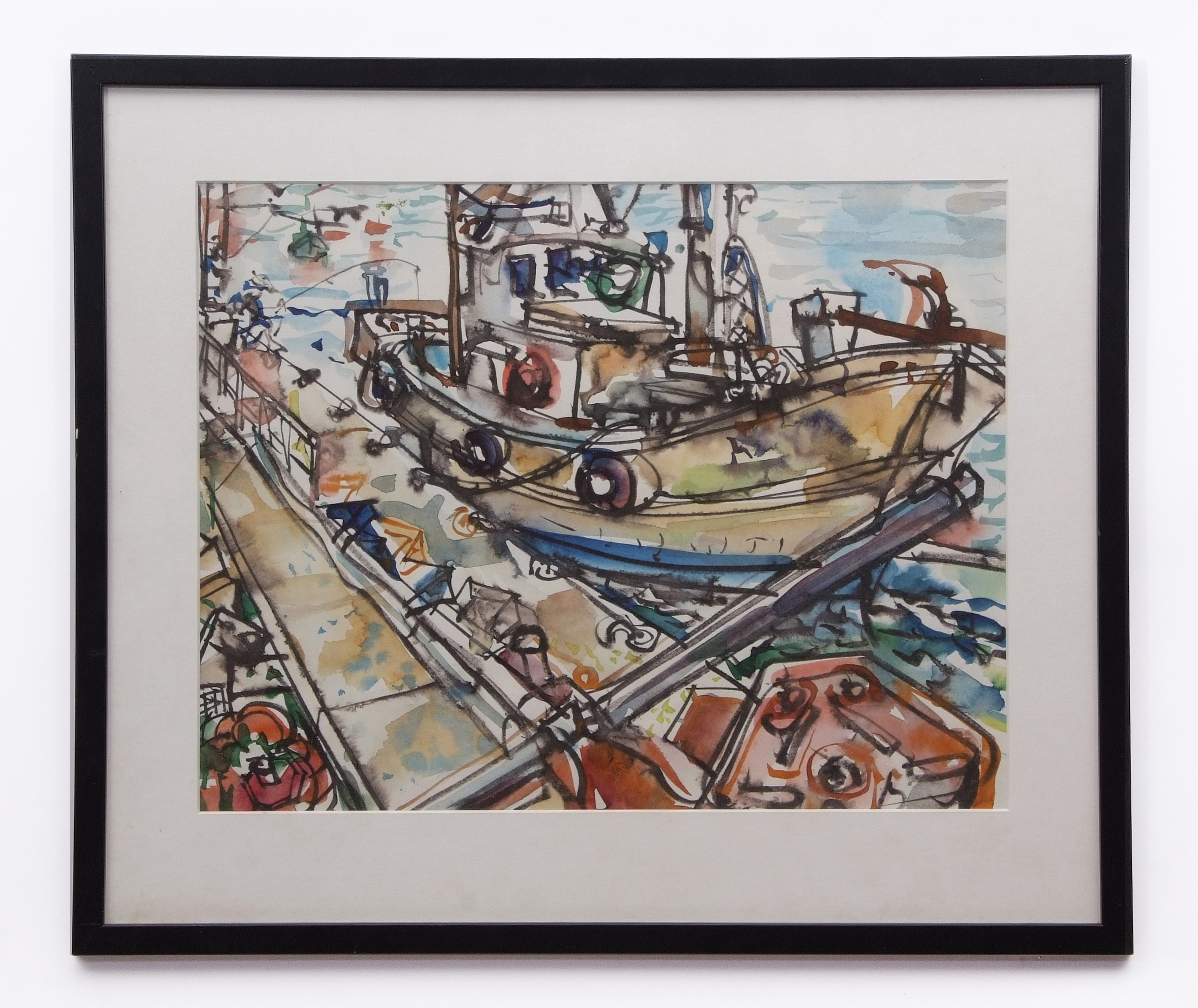 David Smith, Landscapes, coastal scenes etc, group of 13 watercolours, some signed, assorted - Image 9 of 13