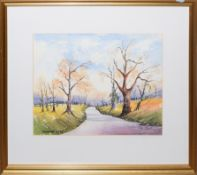 Collection of watercolours by Ken Coulson, mainly unframed