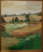 Keith Johnson, Landscape, oil on canvas, signed lower right, 81 x 65cm
