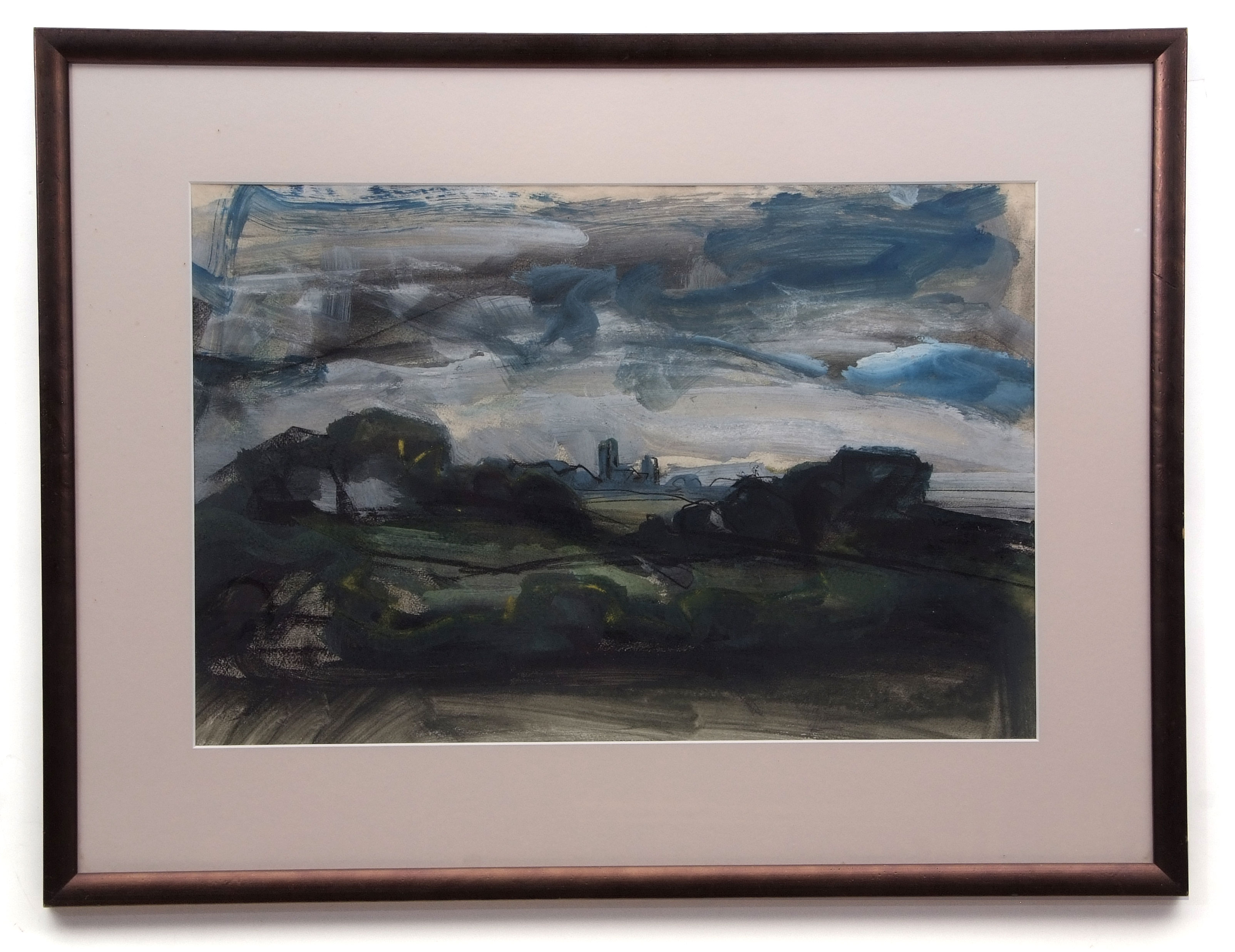 David Smith, Landscapes, coastal scenes etc, group of 13 watercolours, some signed, assorted - Image 6 of 13