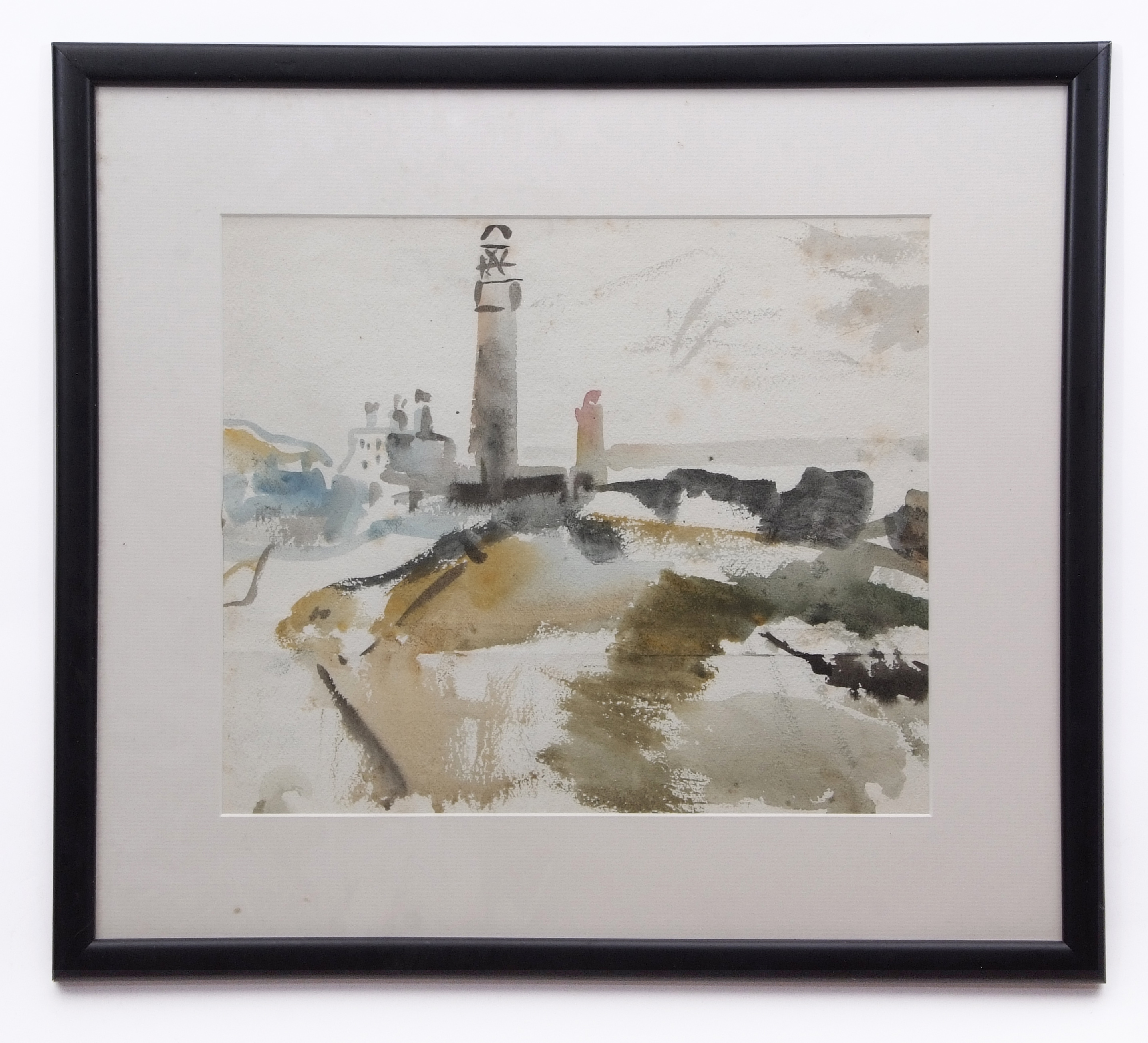 David Smith, Landscapes, coastal scenes etc, group of 13 watercolours, some signed, assorted - Image 11 of 13