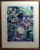 """Christopher Penny (1945-2001), """"Late summer shadows III"""", coloured artist's proof, signed and"""