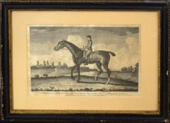 "After F Sortorius, ""Old Traveller"", black and white engraving, printed for Robert Sayer, July"