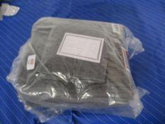 Symple Stuff 6 Piece Towel Set, Colour: Charcoal, RRP £23.99
