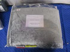 Rosdorf Park Jazmine Duvet Cover Set, Colour: Dove Grey, Size: Kingsize - 2 Standard Pillowcases,