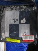 Marlow Home Co. Jacquard Spandex Stretch Box Cushion Wingback Slipcover, Colour: Grey, RRP £60.99