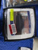 Rosalind Wheeler Box Cushion Sofa Slipcover, Colour: Grey, RRP £53.99