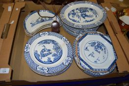 DINNER WARES BY WOOD & SONS IN THE YUAN PATTERN