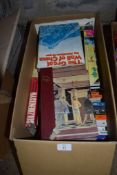 BOX OF MIXED BOOKS