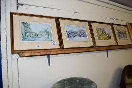 SET OF FOUR COLOURED LITHOGRAPHS AFTER GEORGE SEAR