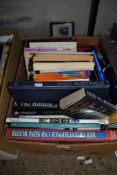 BOX OF MIXED BOOKS, SOME HISTORICAL AND GEOGRAPHICAL INTEREST