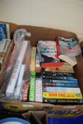 BOX CONTAINING MAINLY PAPERBACK NOVELS