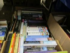 BOX OF MIXED BOOKS, SOME ART INTEREST