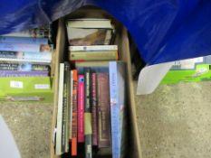 BOX OF BOOKS, SOME ART INTEREST