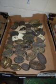 BOX CONTAINING BRASS FITTINGS FOR FURNITURE