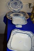 CERAMIC SERVING DISHES BY WEDGWOOD AND OTHERS